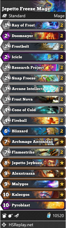 Jepetto Freeze Mage